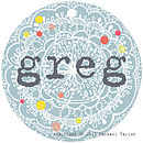 Greg Name Tag