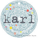 Karl Name Tag