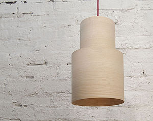 Retro Wood Pendant Lampshade