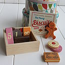 Wooden Biscuits Game