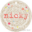 Nicky Name Tag