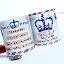 Personalised Special Delivery Mug