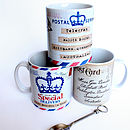 Personalised 'Special Delivery' Mug
