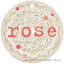 Rose Name Tag
