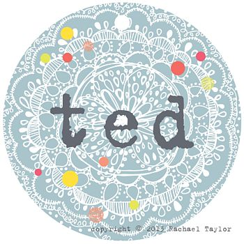 Ted Name Tag