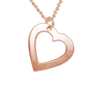 Personalised Engraved Love Necklace