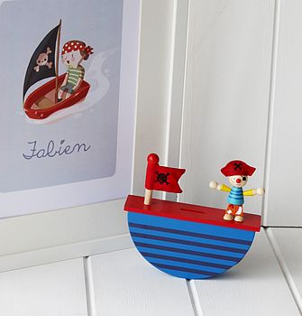 Rocking Pirate Money Box