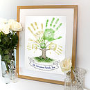 Personalised Hand Print Tree