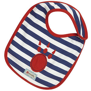 Paw Applique Bib - baby & child sale