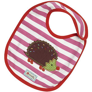 Hedgehog Applique Bib - view all sale items