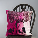 Vase Cushion Berry
