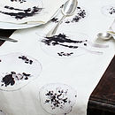 Granny's China Printed Table Runner