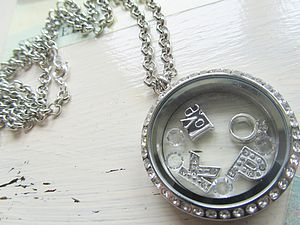 Memory Locket Necklace - wedding jewellery