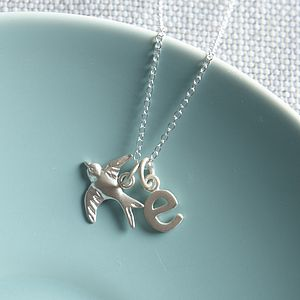 Silver Tiny Bird Necklace - necklaces & pendants
