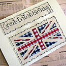 Union Jack Personalised Card