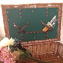 Vintage Wicker Picnic Hamper
