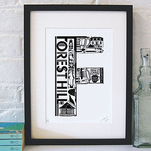 Best Of Forest Hill Screenprint