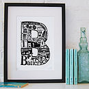 Best Of Battersea Screenprint