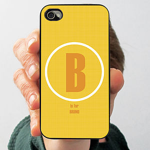 Personalised Letter Case For IPhone - bags & purses