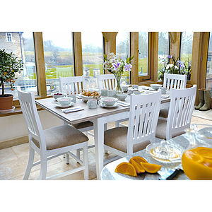 French Country Extending Dining Table