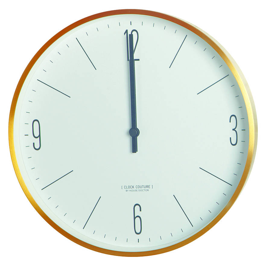 Wall Clock Couture By Idyll Home