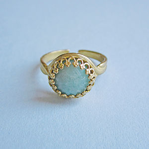 Priya Amazonite Ring - rings