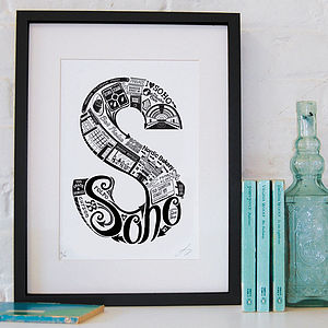 Best Of Soho Screenprint