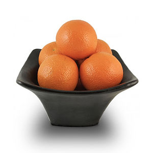Black Square Fruit Bowl, Small