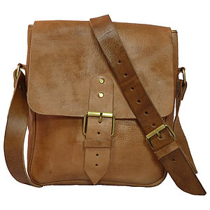 Facteur Veau One Buckle Messenger Bag