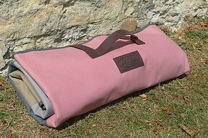 Waterproof Canvas Picnic Rug - winter warmers