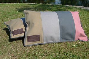 Waterproof Canvas Picnic Cushion - garden sale