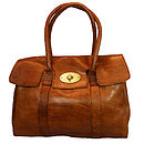 Herbert Classic Leather Tote Bag