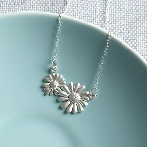 Silver Daisy Chain Necklace - necklaces & pendants