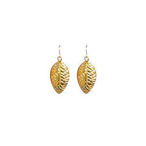 Leaf Earrings - earrings