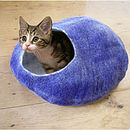 Purple Cat Bed