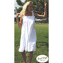 Camilla Embroidered Cotton Nightdress