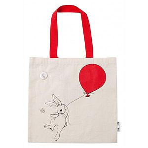 Boo Bunny Book Bag - shopper bags