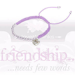 Heart Charm Friendship Bracelet - jewellery