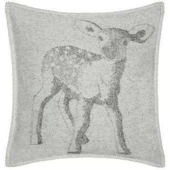 Baby Deer Wool Cushion Cover