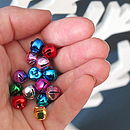 Pack Of 25 Assorted Festive Bells