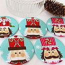 Christmas Nutcracker Mirror Stocking Filler
