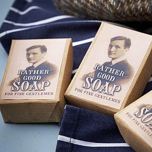 50 Handmade Soaps For Men Wedding Favours - unusual favours