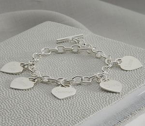 Personalised Loved Ones Bracelet - jewellery gifts for her