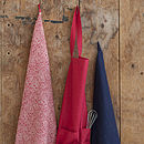 Set Of Two Tea Towels