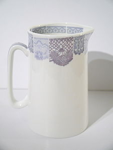 Bone China Lace Jug Small