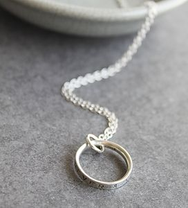 Personalised Script Necklace - personalised