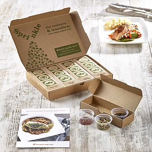 Two Month Recipe Discovery Kit Subscription - food & drink gifts