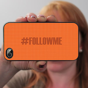 Personalised Hashtag Case For IPhone - bags & purses