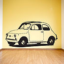 Cute Car Vinyl Wall Sticker