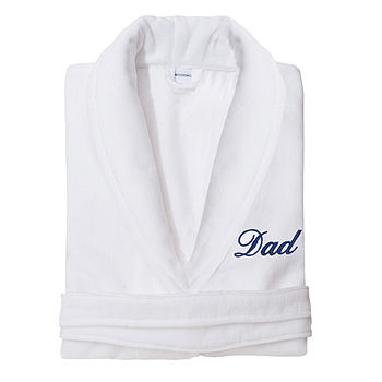 Dad Velour Robe